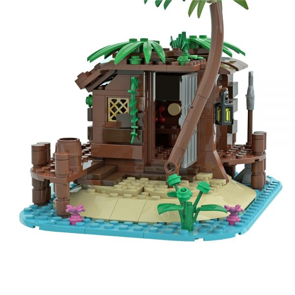 moc 71229 pirate shed 21322 barracuda bay extension creator by maniu 81 moc factory 213600 - MOULD KING