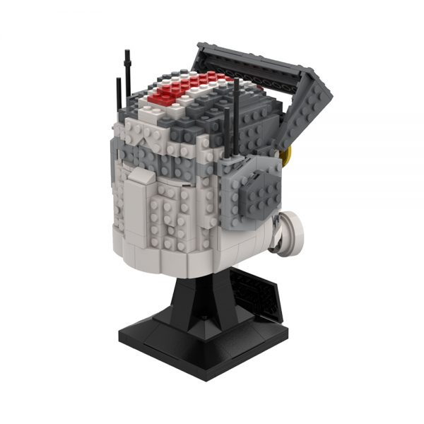 moc 75906 tech bad batch helmet collection star wars by breaaad moc factory 223557 - MOULD KING