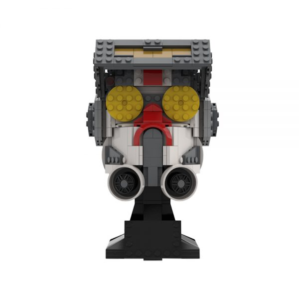 moc 75906 tech bad batch helmet collection star wars by breaaad moc factory 223600 - MOULD KING