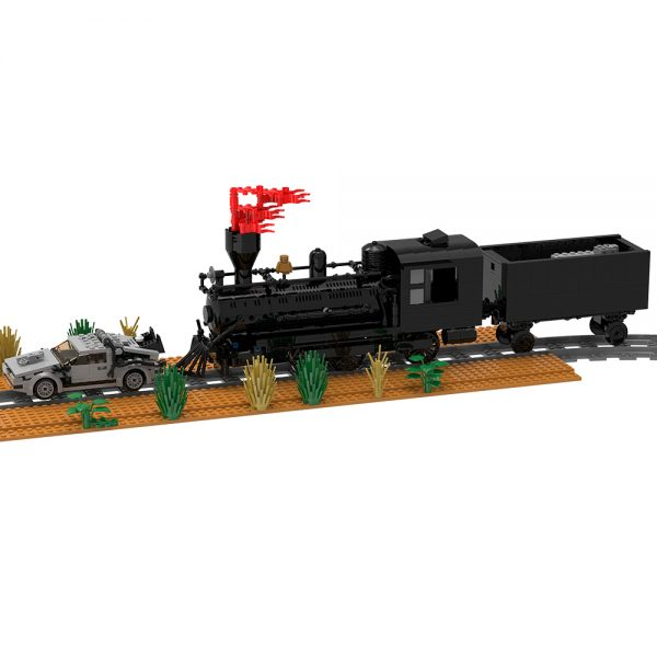 moc 90176 back to the future train scene movie moc factory 095258 1 - MOULD KING