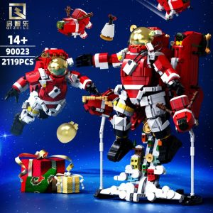 QIZHILE 90023 Xmas Astronaut with 2119 pieces